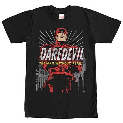 Daredevil Dare You Black Mens T-Shirt