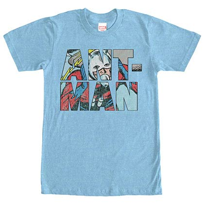 Ant-Man Namesake Blue Mens T-Shirt