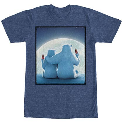 Coca-Cola Moonset Blue T-Shirt