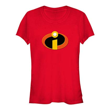 Disney Pixar The Incredibles Incredibles Logo Red T-Shirt