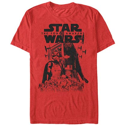 Star Wars Episode 7 Army Leader Red T-Shirt