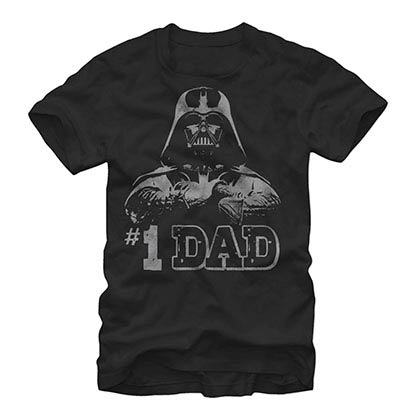 Star Wars Numero Uno Black T-Shirt