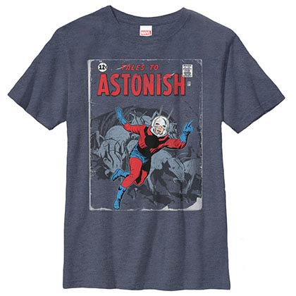Ant-Man Ant Tales Blue Youth T-Shirt
