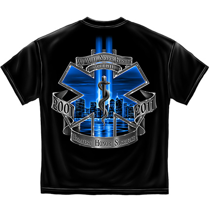 EMS Bravery Honor Sacrifice Tee Shirt