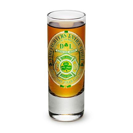 Firefighter Extra Stout Shot Glass