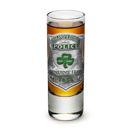 Ireland's Finest Irish Police Shot Glass