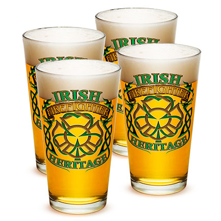 Irish Heritage Firefighter Pints Four Pack