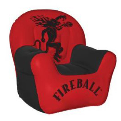 Fireball Whiskey Inflatable Chair