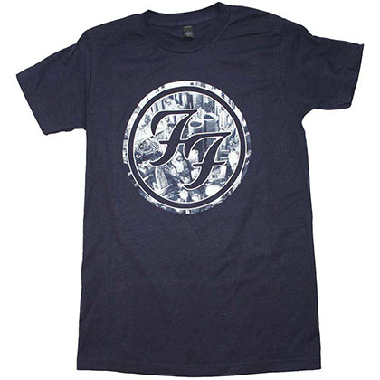 Foo Fighters City Circle Logo T-Shirt