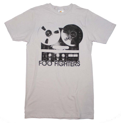Foo Fighters Reel to Reel Slim Fit T-Shirt