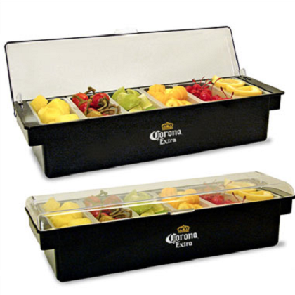 Corona Fruit Tray Condiment Holder