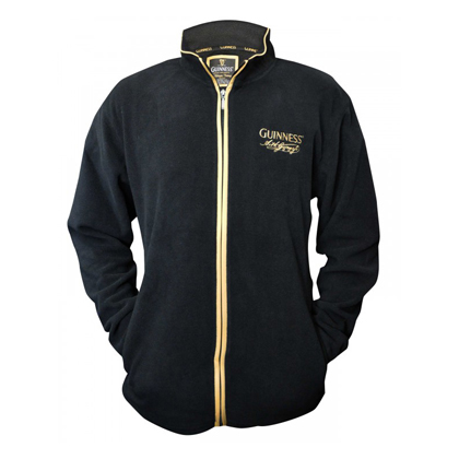 Guinness Zip Up Fleece Jacket