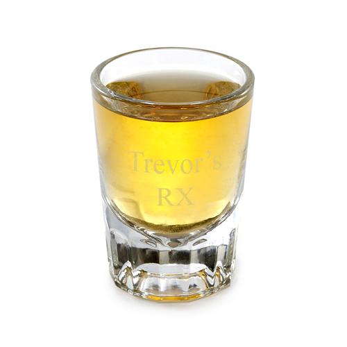 Personalized 2 Ounce Custom Shot Glass