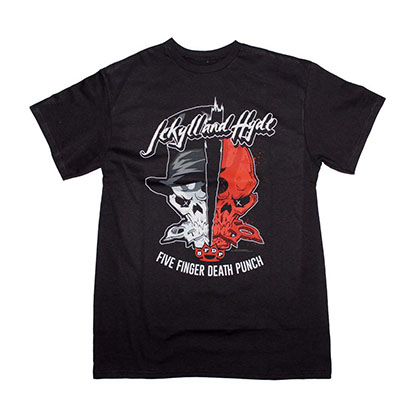 Five Finger Death Punch Jekyll and Hyde T-Shirt