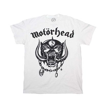 Motorhead Flat War Pig White T-Shirt