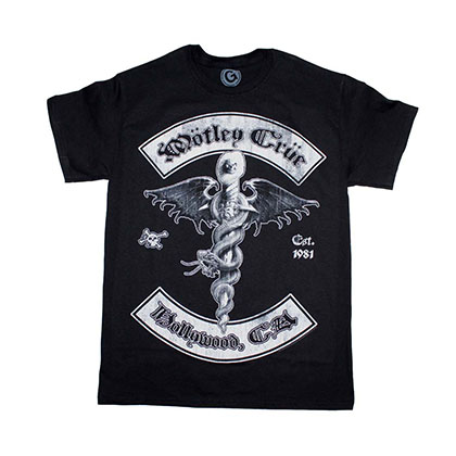 Motley Crue Feelgood Hollywood T-Shirt
