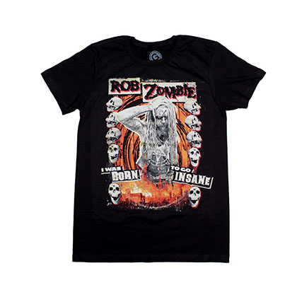 Rob Zombie Born to Go Insane T-Shirt