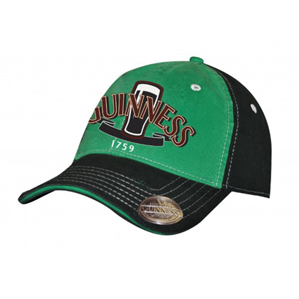 Guinness Green and Black Bottle Opener Hat