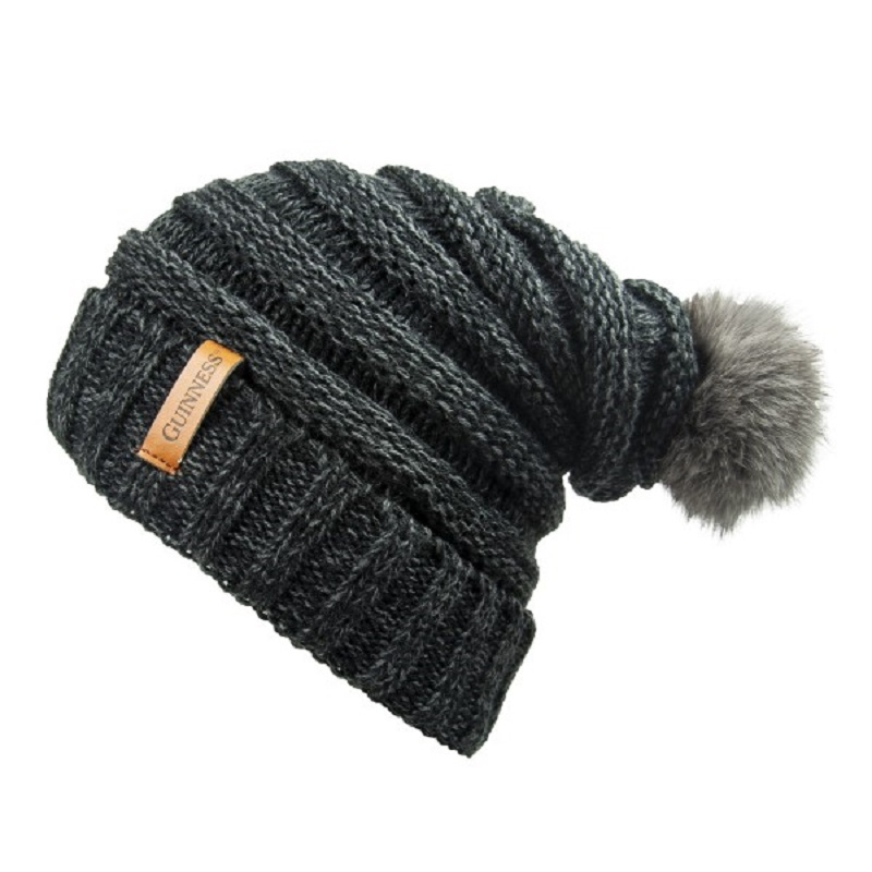 cab1fd15d0b Guinness Grey Slouchy Winter Hat