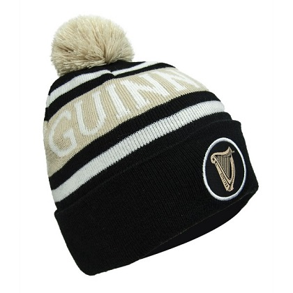2096872cc287 Guinness Premium Black and White Winter Hat