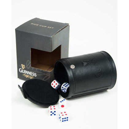 Guinness Dice Cup Set