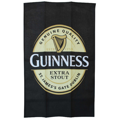 Guinness Extra Stout Label Towel