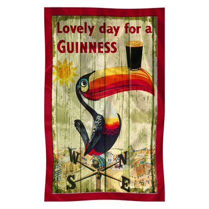 Guinness Toucan Nostalgia Collection Tea Towel