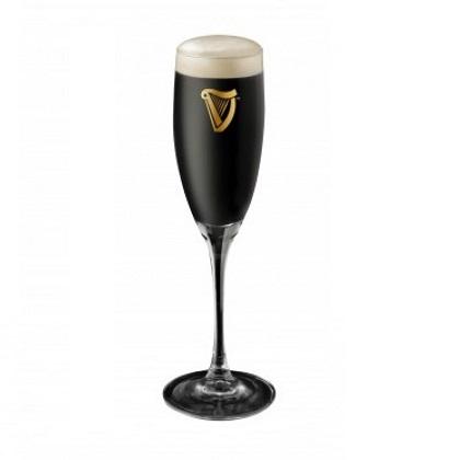 Guinness 9 Ounce Cachet Flute Glass