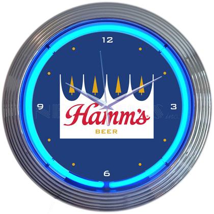 Hamm's Neon Clock