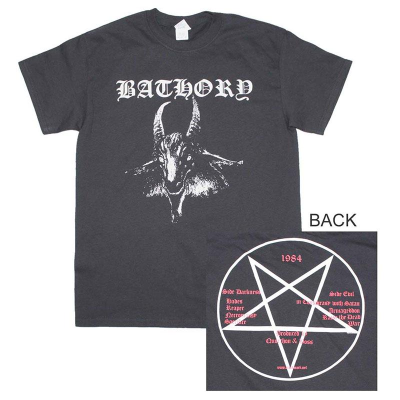 Bathory Goat Logo T-Shirt