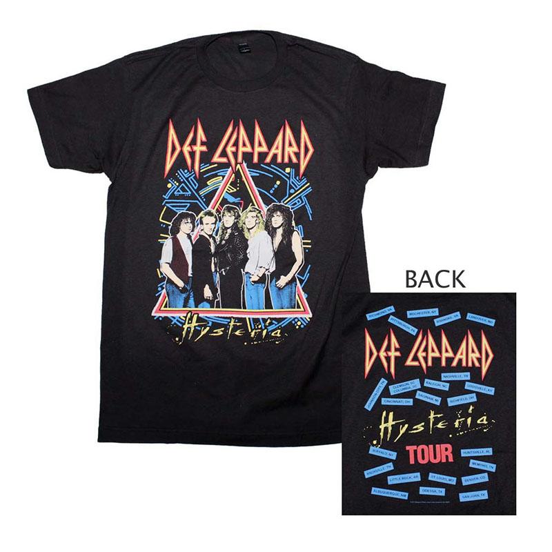 Def Leppard Hysteria Tour T-Shirt