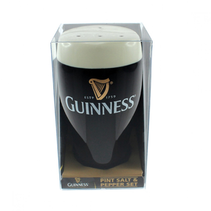 Guinness Salt and Pepper Shakers Set