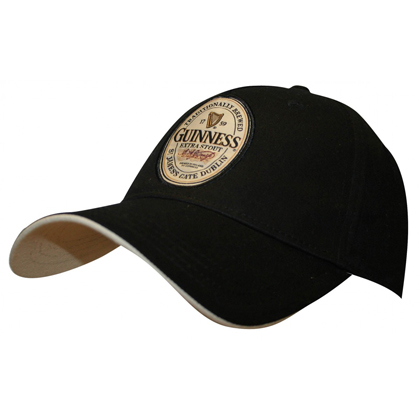 Guinness Extra Stout Label Hat