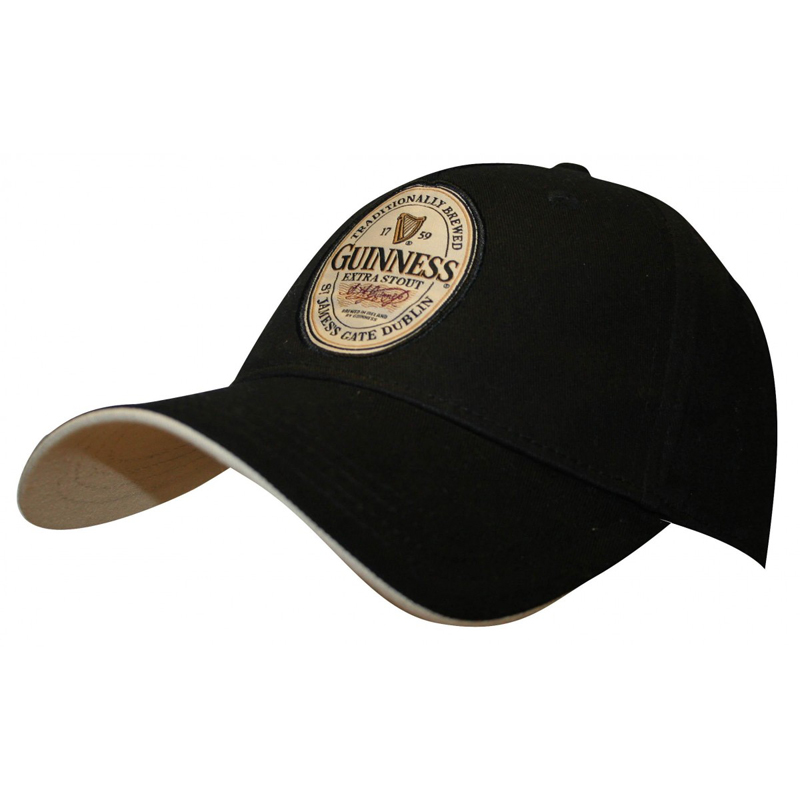 1c8e79705 Guinness Extra Stout Label Hat