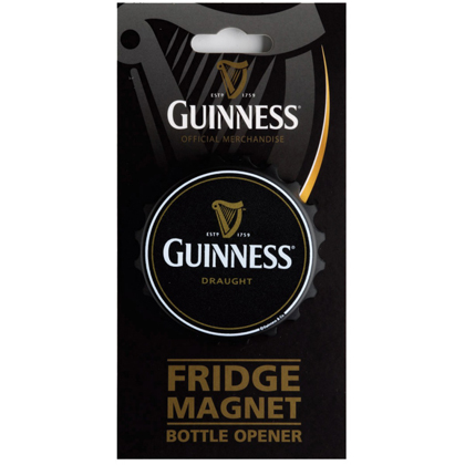 Guinness Fridge Magnet Bottle Opener