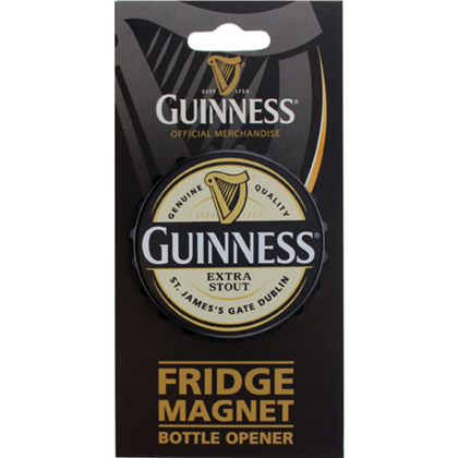 Guinness Extra Stout Fridge Magnet Bottle Opener