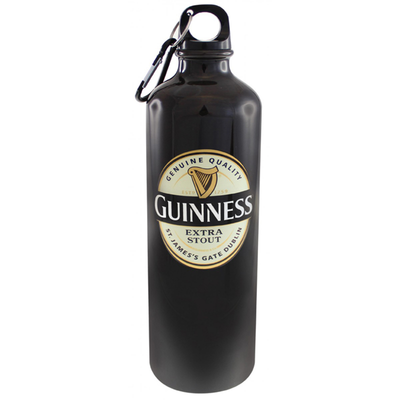 Guinness Label Water Bottle