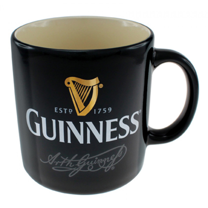 Guinness Signature Black Mug