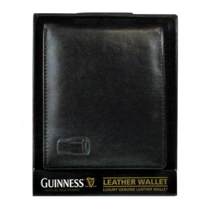 Guinness Pint Glass Logo Leather Wallet