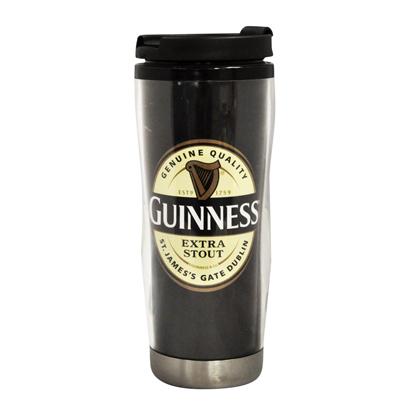 Guinness Label Travel Mug