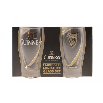 Guinness Gravity Mini Pint Glasses 2 Pack