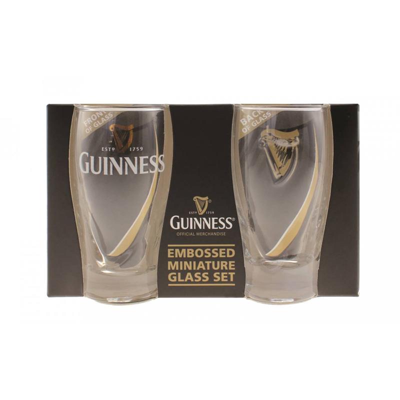 Guinness Gravity Mini Pint Glasses 2 Pack
