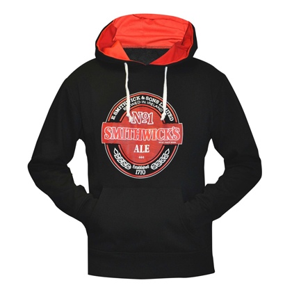 Smithwick's Black and Red Pullover Hoodie