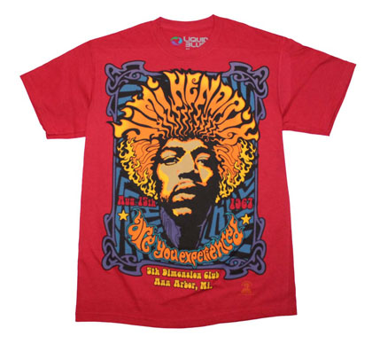 Jimi Hendrix 5th Dimension T-Shirt