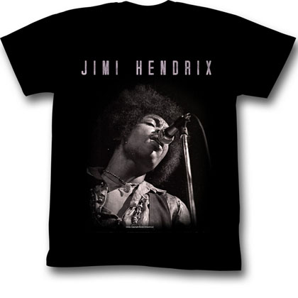 Jimi Hendrix Jimi Black and White T-Shirt