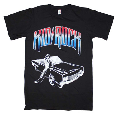 Kid Rock Chrome Logo T-Shirt