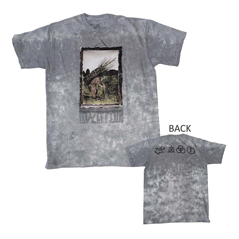 Led Zeppelin Man with Sticks Custom Dye T-Shirt
