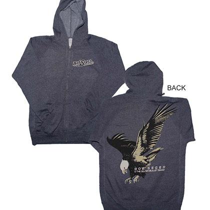 Bob Seger Eagle Zip Hoodie Sweatshirt