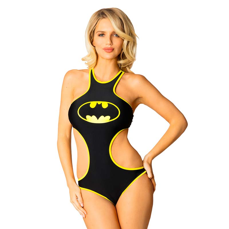 Batman Comic High Neck Monokini