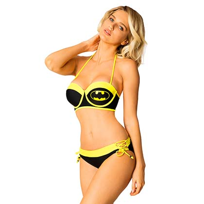 Batman Comic Underwire Bikini